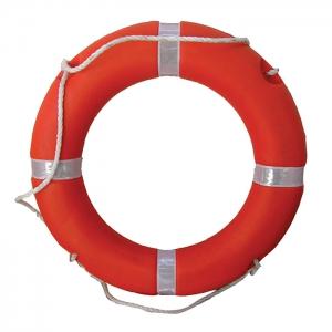 Круг спасательный  оранжевый 75х44 см