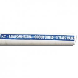 Шланг SANIPOMP/EXTRA 25мм, для сточных вод, арм-е металлической пружиной