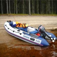 Надувные лодки YAMARAN
